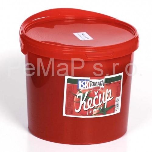 Kečup jemný 5kg (v e-shopu neprodejné)