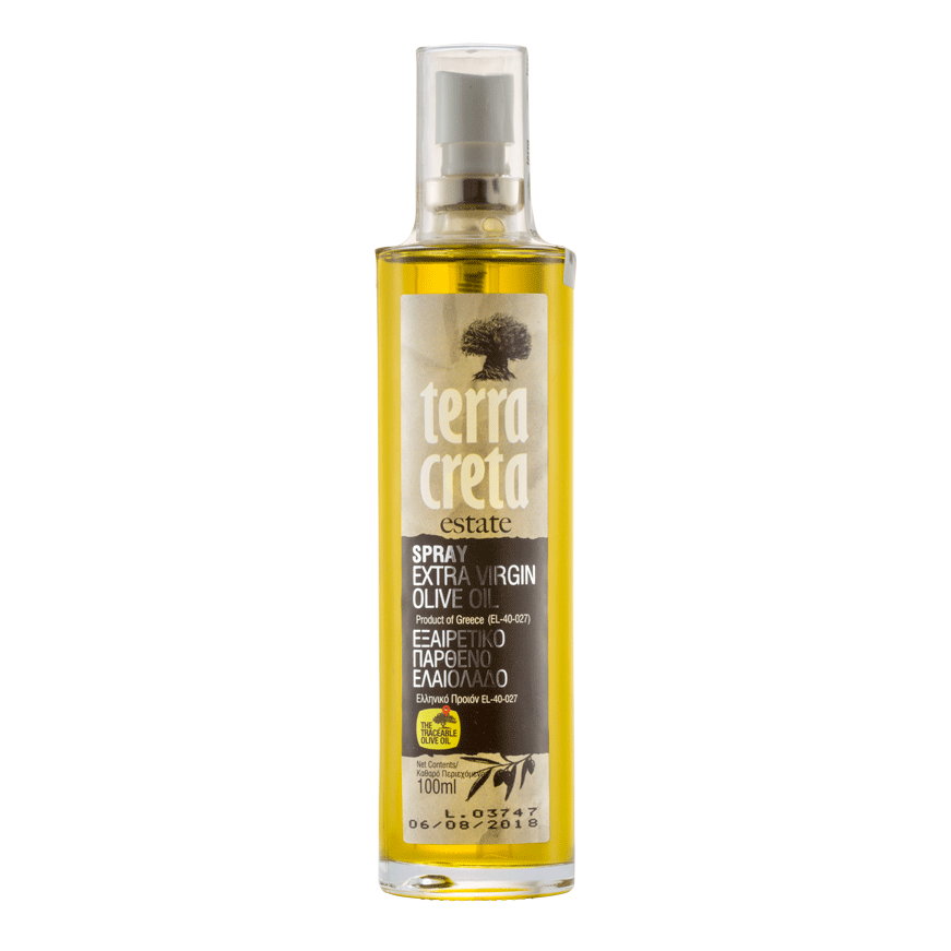 EXTRA VIRGIN olivový olej TERRA CRETA VE SPREJI   100ml