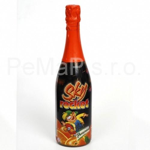 Karneval Sky-Rocket pomeranč 0,7l
