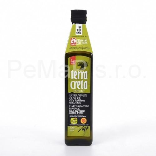 EXTRA  VIRGIN olivový olej  TERRA CRETA  P.D.O. Kolymvari  500ml